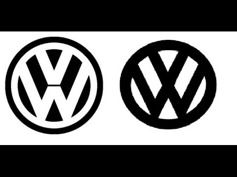 VW Logo - is it left or right?