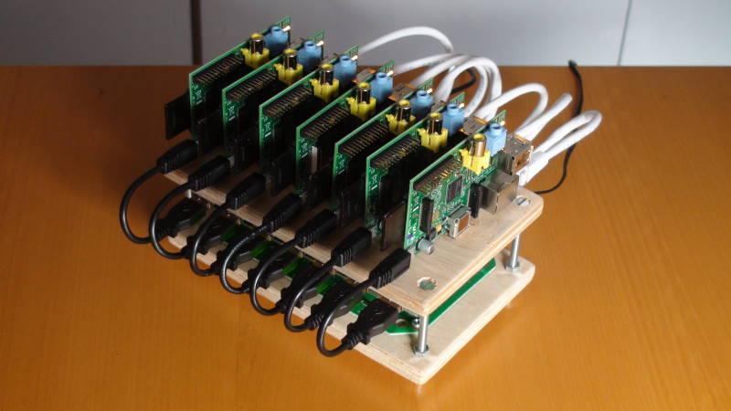 Simple Pi Rack II